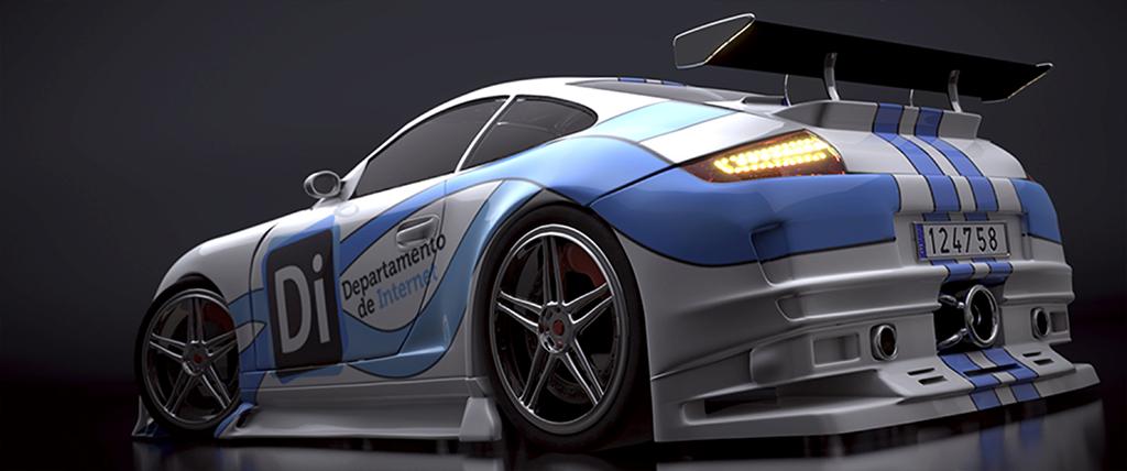 Blender – Porche GT-911