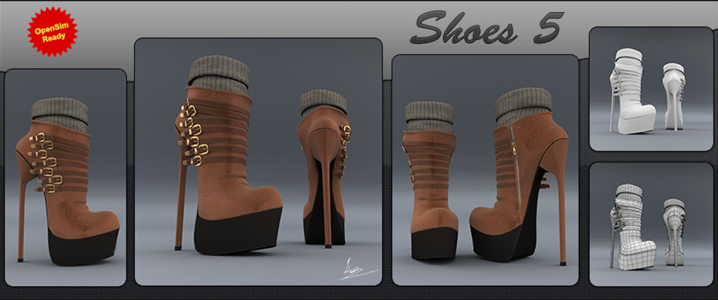 Shoes #5 (booties)
