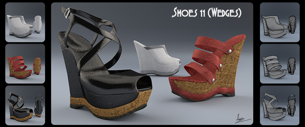 Shoes 11(wedges)